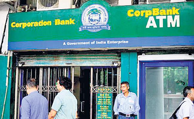 Corporation bank has huge losses - Sakshi