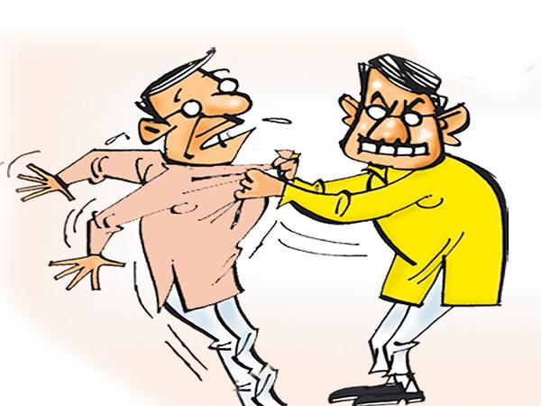 TDP Leaders Threats To YSRCP Mla Chevireddy Bhaskar Reddy - Sakshi