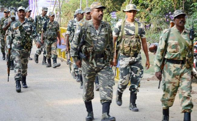 Tight Security In Chandragiri Constituency - Sakshi