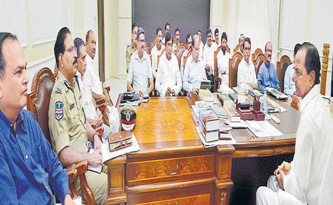 KCR On State Formation Day Arrangements - Sakshi
