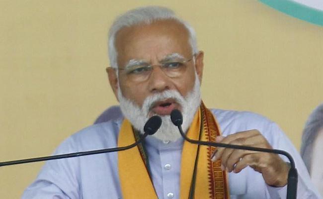 Editorial On Narendra Modi Press Meet - Sakshi