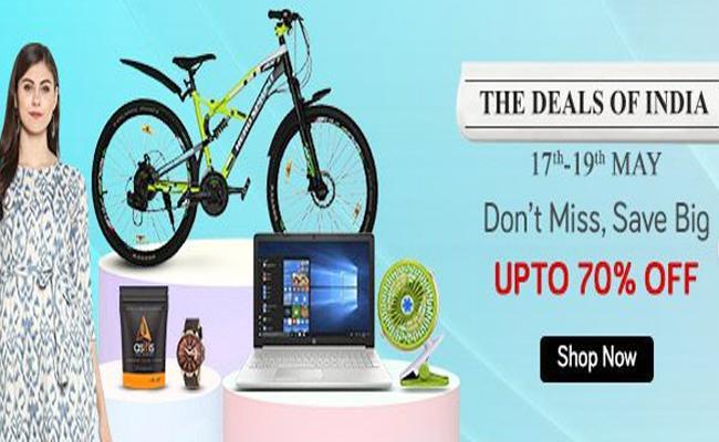 Snapdeal Mega Deals Sale Offers Discount on Summer Essentials - Sakshi
