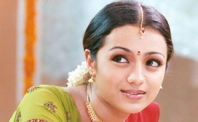 Trisha Act In Heroine Oriented Film - Sakshi