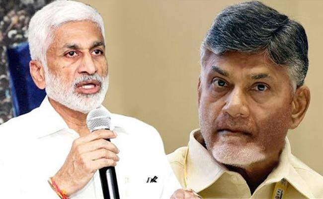 Vijayasai Reddy Fires on Chandrababu over recounting - Sakshi