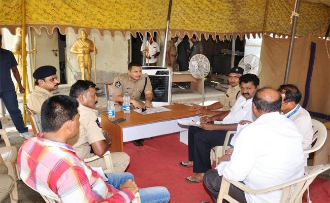 Necessary Actions Will Be taken for Peaceful Election Counting - Sakshi
