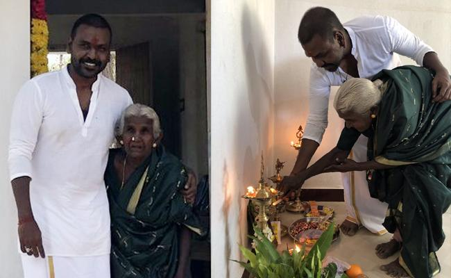 Raghava Lawrence Builds House as Promised - Sakshi