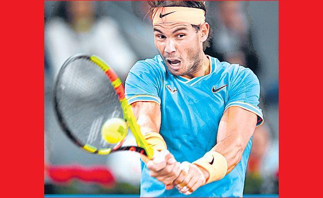 Rafael Nadal fires warning to Stefanos Tsitsipas ahead of Italian Open - Sakshi