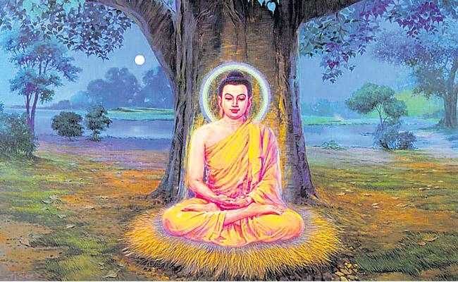 He established the Buddhist community for the first time in Sarnath - Sakshi