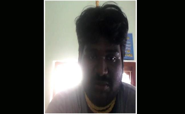 Young Man Selfie Suicide In Krishna - Sakshi