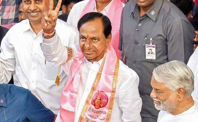 TRS Won 15 MP Seats In Telangana Exit Polls - Sakshi