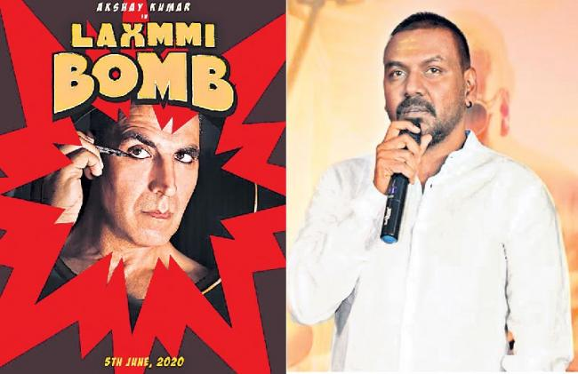 Akshay Kumar's first look released from the movie laxmi bomb - Sakshi