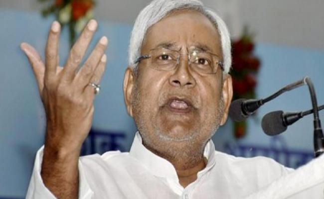 Bihar CM Nitish Kumar Fires On Pragya Thakur - Sakshi