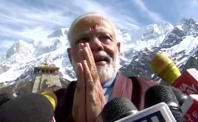 PM Modi Says He Has Special Bond With Kedarnath - Sakshi