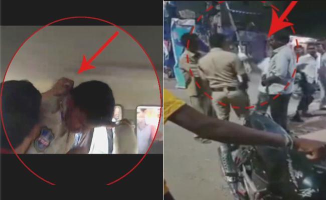 Police Over Action In Indervelly Mandal - Sakshi