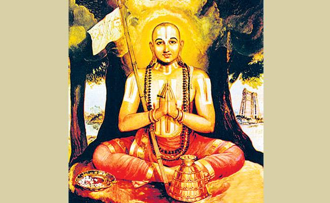Brahmasutra is written by Ramanuju Most famous - Sakshi