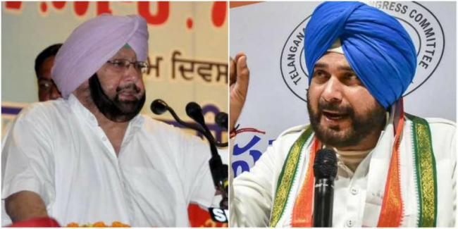 Amarinder Singh Says Sidhu Wants To Become Next Punjab CM   - Sakshi
