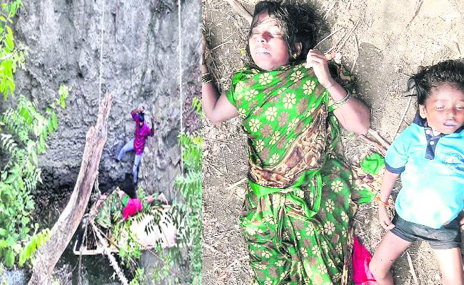 Women Suicide Attempt In Warangal - Sakshi