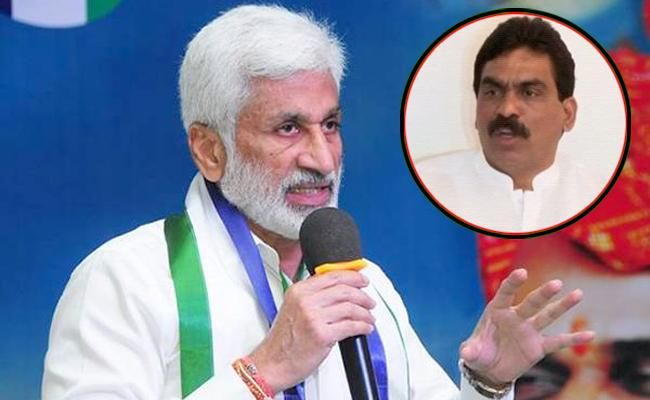vijaya sai reddy reacts on lagadapati rajagopal survey - Sakshi