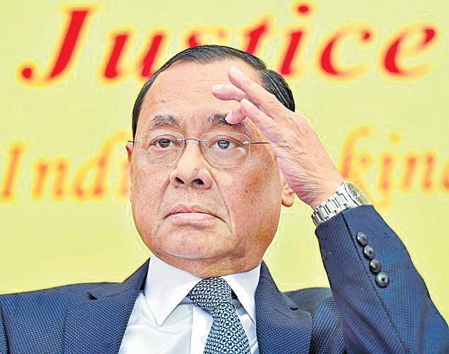 Panel examines CJI Ranjan Gogoi in harassment probe - Sakshi