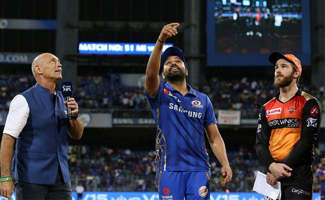Mumbai Indians Won The Toss And Elected to Bat First Against SRH - Sakshi