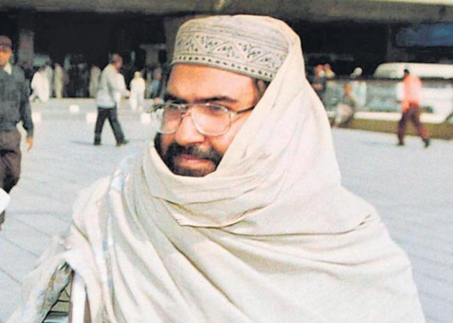 Masood Azhar Designated Global Terrorist In UN - Sakshi