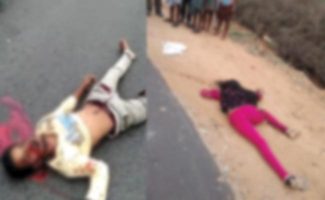 Newly Married Couple Died in Bike Accident Chittoor - Sakshi