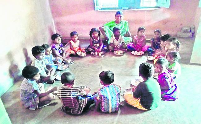 No Summer Holidays to Anganwadi Centres YSR Kadapa - Sakshi
