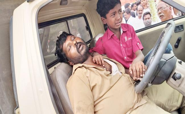 Car Driver Epilepsy in While Driving And Dead - Sakshi