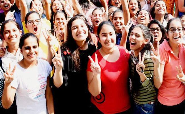 CBSE 2019 Results Are Out UP Two Girls Got Top Rank - Sakshi