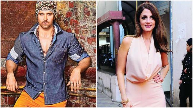 Sussanne Says Have A Support System In Hrithik   - Sakshi
