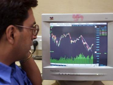 SensexNifty Slips in to Red - Sakshi