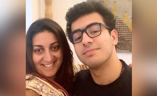 CBSE Class 12 Results Smriti Irani and Sunita Kejriwal Tweets About Their Sons Marks - Sakshi