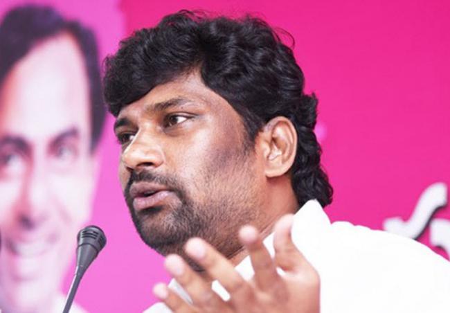 Revanth Reddy is a political terrorist  Says Balka Suman - Sakshi