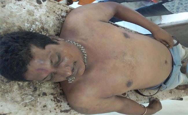 Man Died in Dinner Vizianagaram - Sakshi
