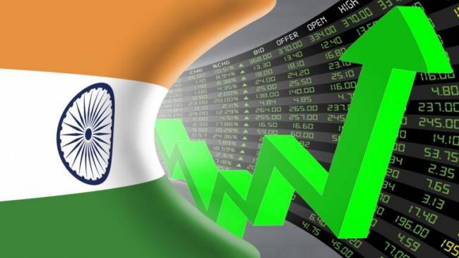 Sensex Vaults After Exit Polls Predict NDA Win - Sakshi