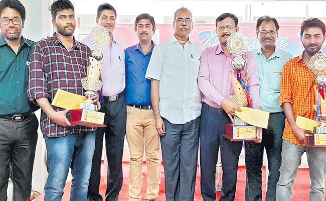 Rama Krishna Gets Chess Title - Sakshi