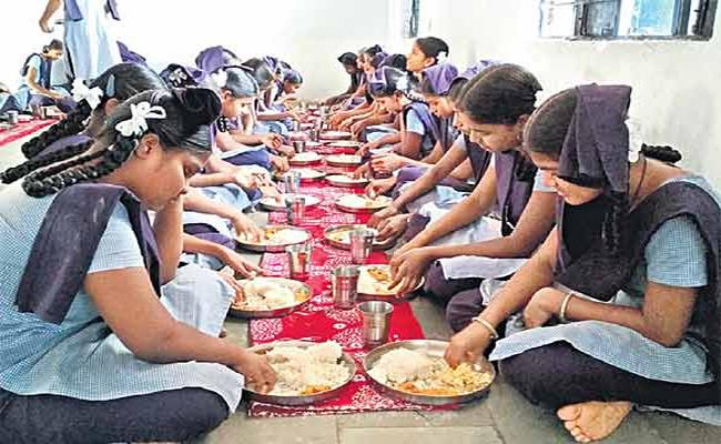 Quality Lunch In Telangana Govt Schools - Sakshi