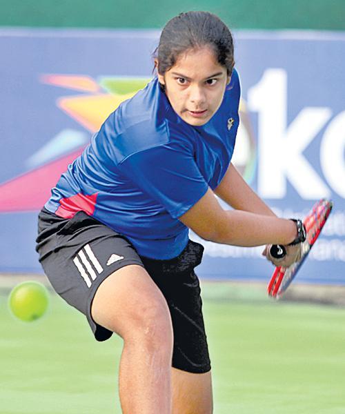 Sanjana Sirimalla as Top Seed in Under 16 Tennis Tourney - Sakshi