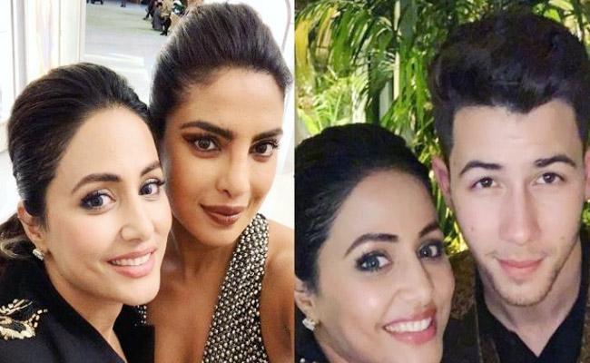 Hina Khan Praises Priyanka Chopra After Going To Her Party - Sakshi