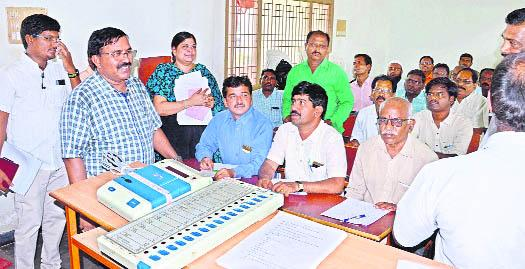 All precautions Were Taken For Counting On 23rd says Kurnool Collector - Sakshi