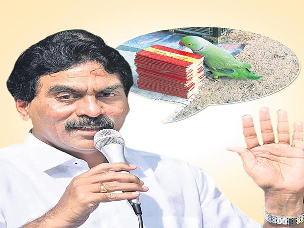 Chandrababu Is Behind The Lagadapati Survey - Sakshi
