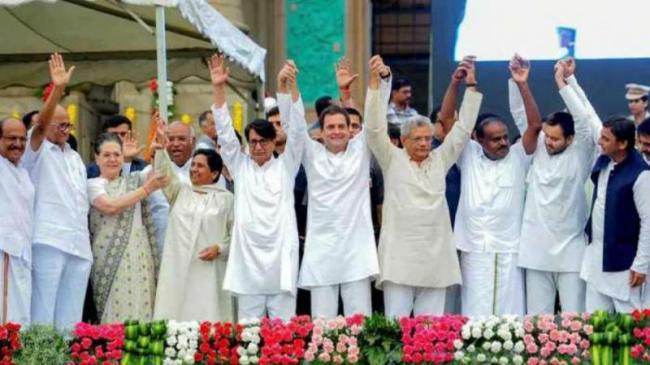 Ram Madhav Blasts Opposition Over Exit Polls - Sakshi