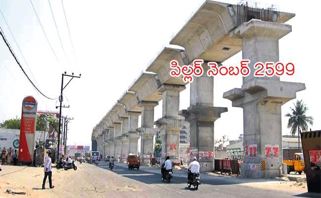 Pillars Constructions Complete in Hyderabad Metro - Sakshi