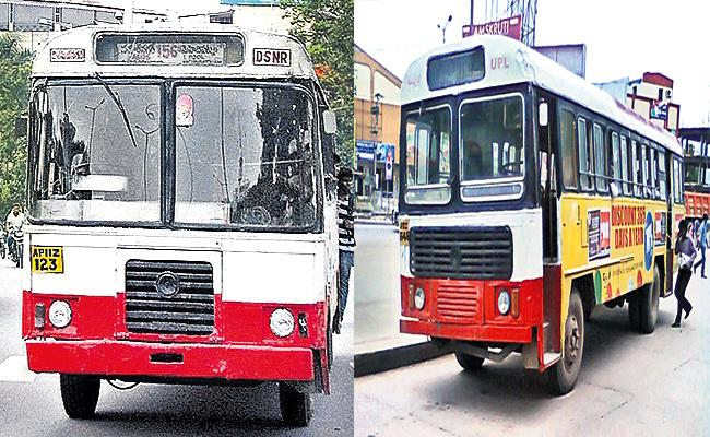 Greater Hyderabad TS RTC Loss With Rental Busses - Sakshi