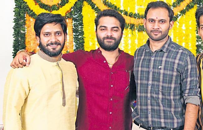 vishwaksena cartoon movie launch - Sakshi
