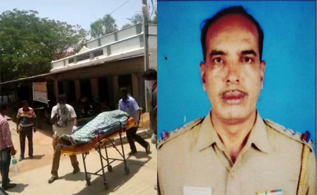 Tamil Nadu SI Died With Sun Stroke in Chittoor - Sakshi
