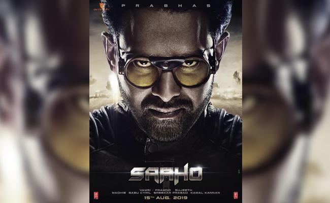 Prabhas Sahoo Release Date And First look Poster - Sakshi