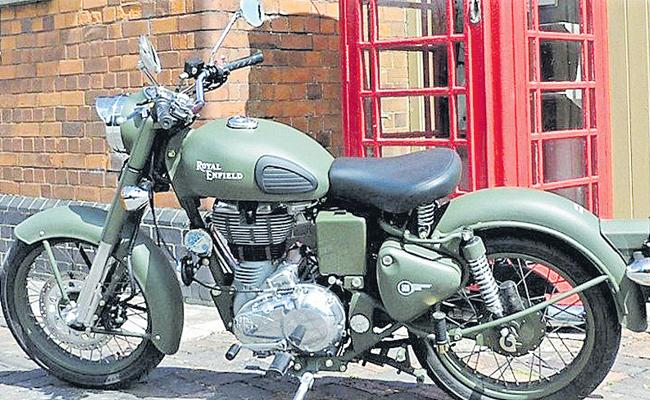 Patent infringement case against Royal Enfield - Sakshi