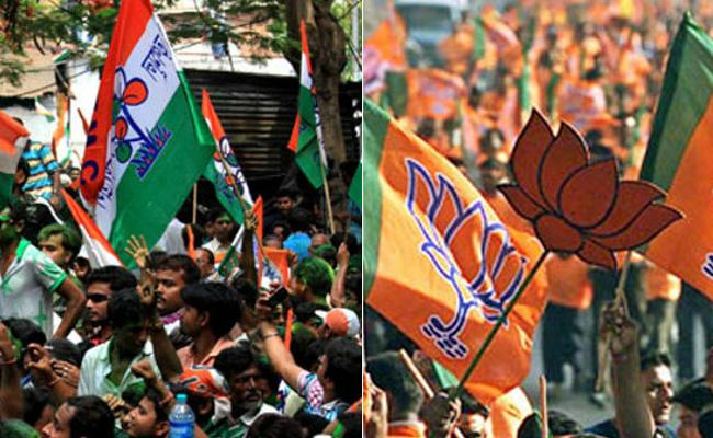 3 BJP Workers Suffer With Bullet Injuries In Bengal - Sakshi
