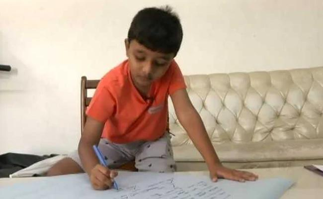 Meet 8-yr-old Boy From Chennai who can Read and Write over 106 Languages - Sakshi